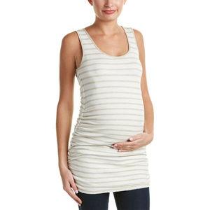 Tart Maternity Womens Reversible Long Tank Top XS